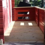 Ny veranda.