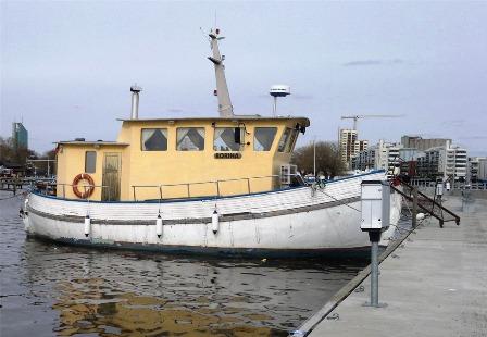 Borina innan Micke övertog båten!