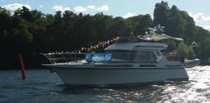 Arrangörsbåt