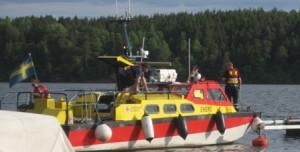 GBS fick två av Sjöräddningens båtar på besök.