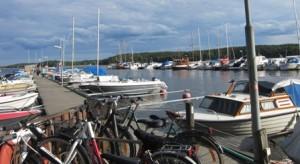 Båt + cykel = sommar