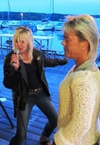 Lisa och Yvonne