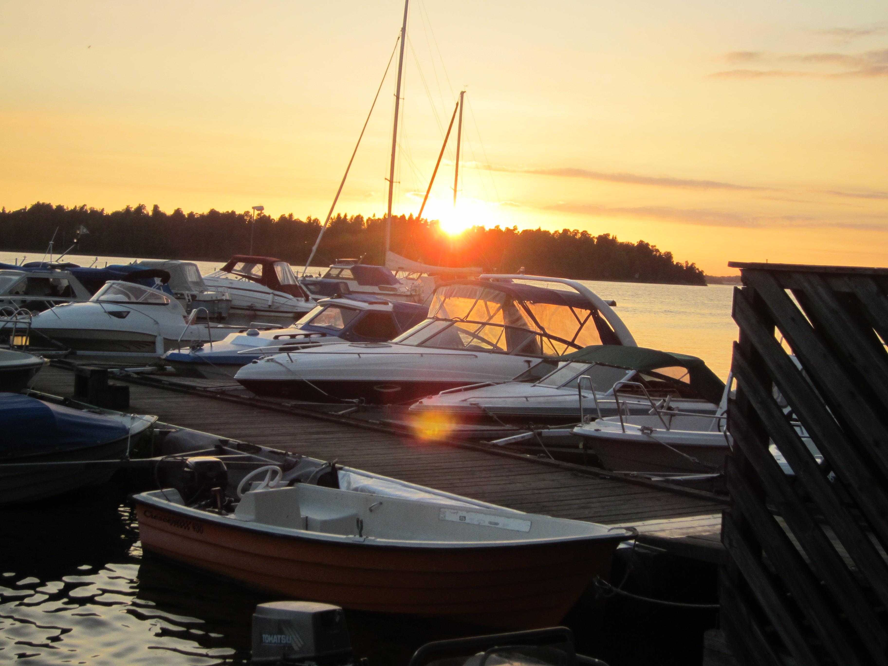 En vacker solnedgång 2016-09-14