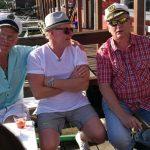 På ljugarbänken sitter Classe , Tommy och Robban