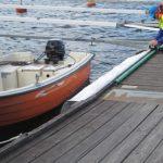 Hur var det nu man köt fast en båt?