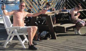 Dagens 51-åring berättar om storleken på fisken han aldrig fick!